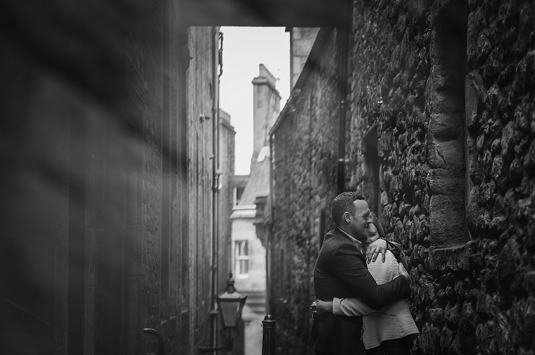 alternative-romantic-engagement-photography-edinburgh-jo-donaldson-photography-royal-mile