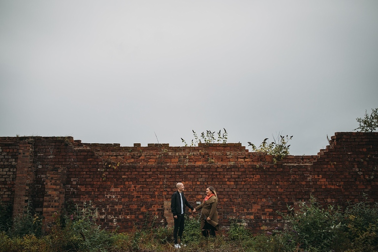 East End of Glasgow engagement photography