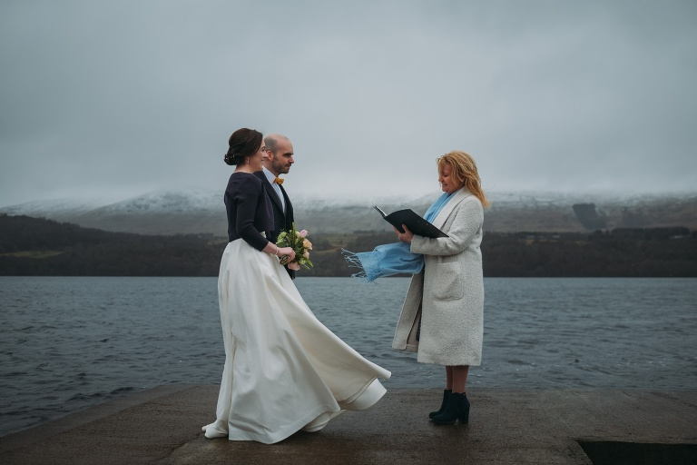 romantic wedding and elopement photography in Ardeonaig